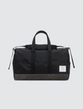 Thom Browne Unstructured Holdall In Nylon Plain Weave + Suede Picture