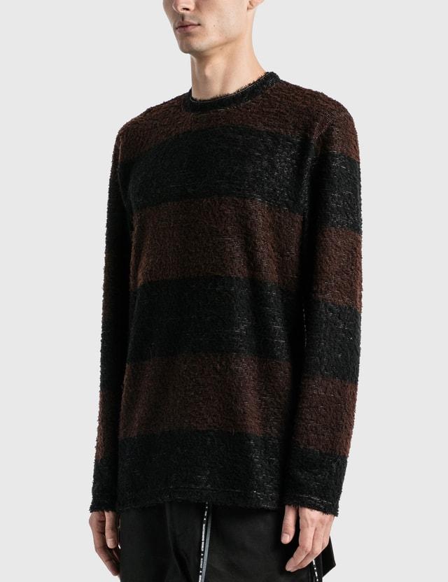 Mastermind World Pile Striped Long Sleeve T-Shirt