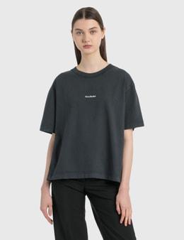 Acne Studios Logo Print T-Shirt