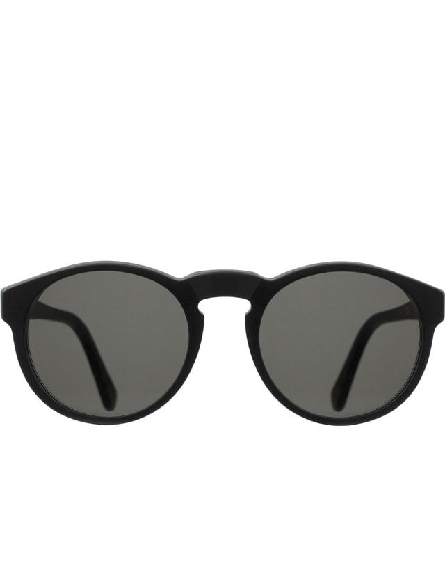 Super By Retrosuperfuture Paloma Black Matte Sunglasses