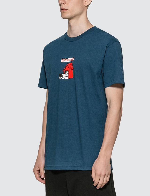Divinities Dog House T-Shirt Harbor Blue Men