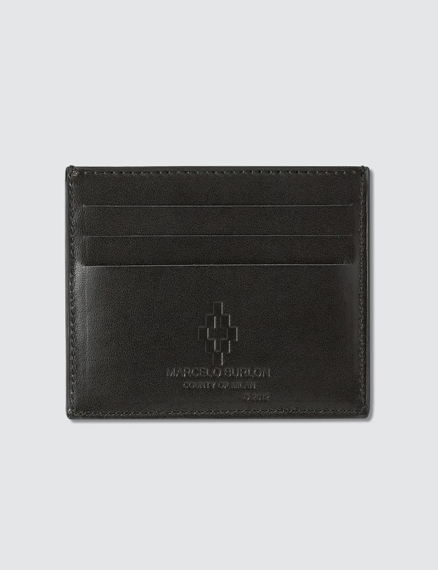 Marcelo Burlon Black Wings Card Holder