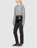 Alexander Wang.T Dry French Terry Distressed Sweatshirt