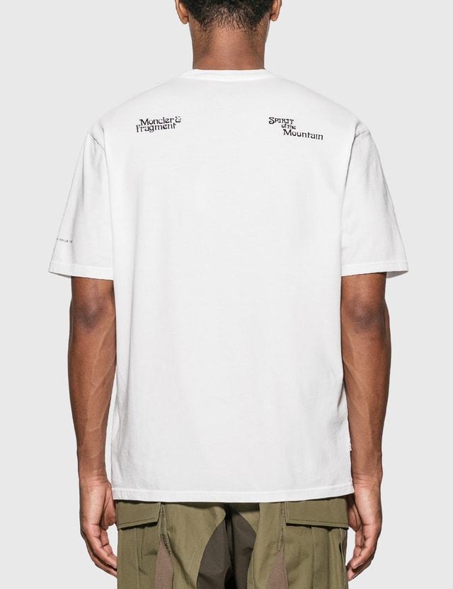 Moncler Genius Moncler Genius x Fragment Design 스피릿 오브 더 부기 티셔츠 White Men