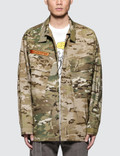 Billionaire Boys Club Crye X Billionaire Boys Club Patchwork Field Shirt Picutre
