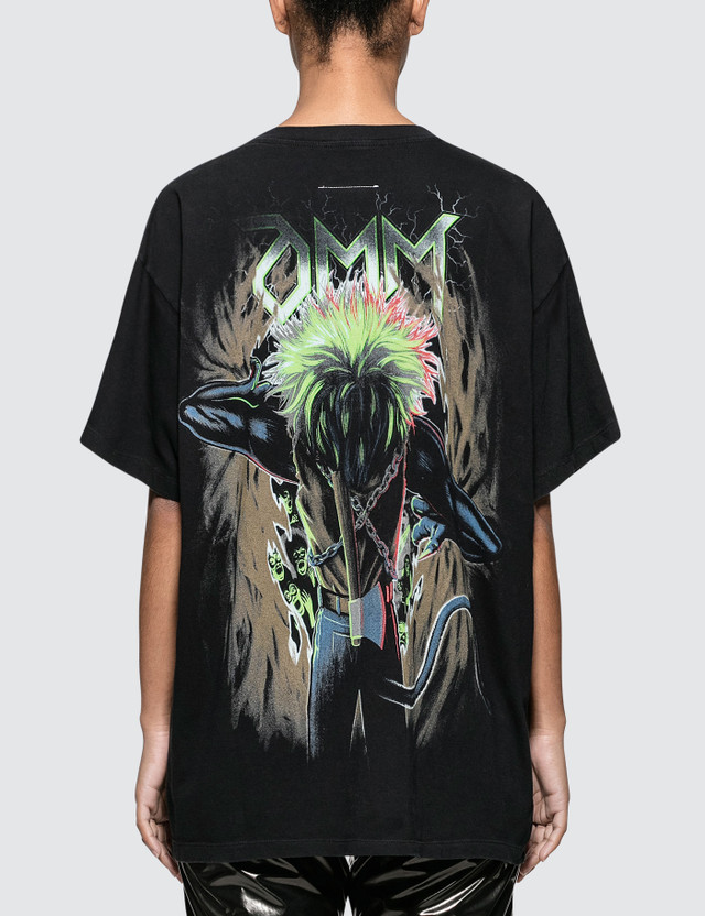 MM6 Maison Margiela Printed Oversized Short Sleeve T-shirt