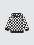 Meme Checkered Knit Sweater Picture