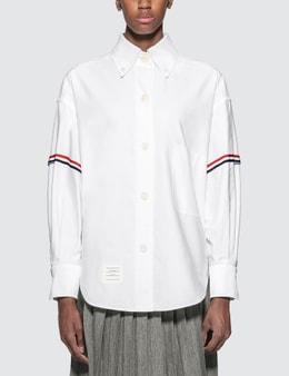 Thom Browne Supersized University Shirt