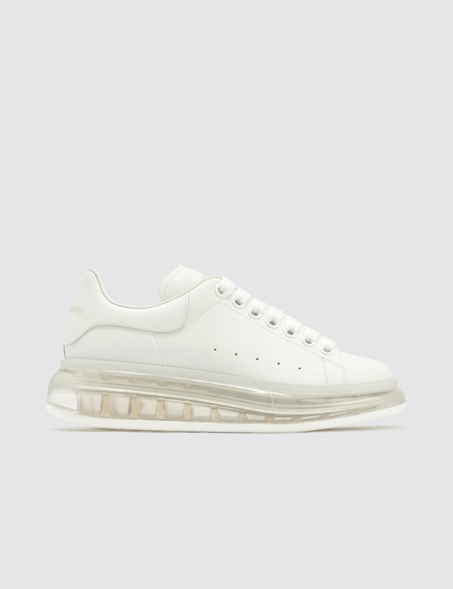 Alexander McQueen Oversized Sneaker With Transparent Sole