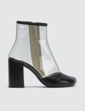 MM6 Maison Margiela Transparent Boots Picutre