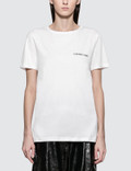 Helmut Lang Logo Short Sleeve T-shirt Picture