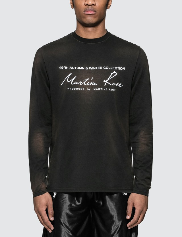 Martine Rose Classic Long Sleeve T-Shirt