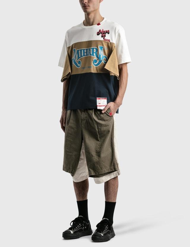 Maison Mihara Yasuhiro W-sleeve Skate Pants Khaki Men