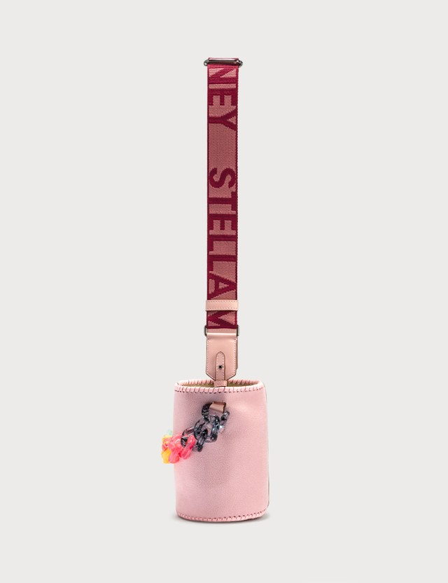Stella McCartney Bucket Bag With Transparent Chunky Pastel Chain