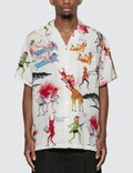 Wacko Maria Neck Face / S/S Hawaiian Shirt Picutre
