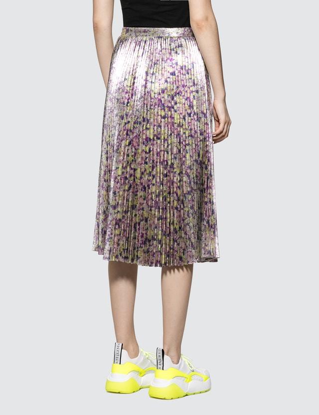 Stella McCartney Floral Lurex Print Ditsy Skirt