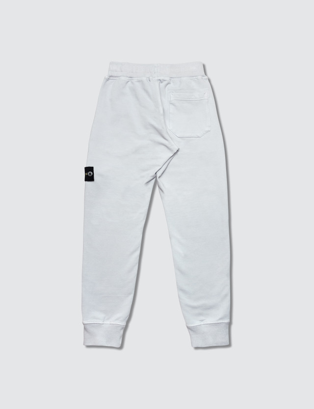 Stone Island Jersey Sweatpant (Infant) White Kids