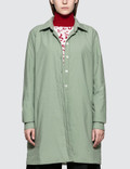 Aalto Lightly Padded Oversized Shirt With Slits Picture