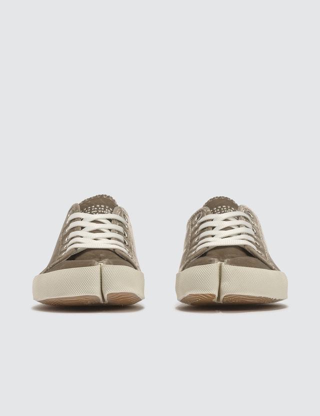 Maison Margiela Tabi Velvet Sneakers