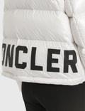 Moncler Velvet Panelled Down Jacket