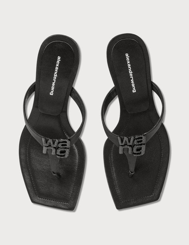 Alexander Wang Bianca Logo Sandal