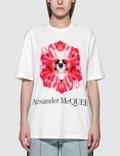 Alexander McQueen Flower Skull T-shirt 사진