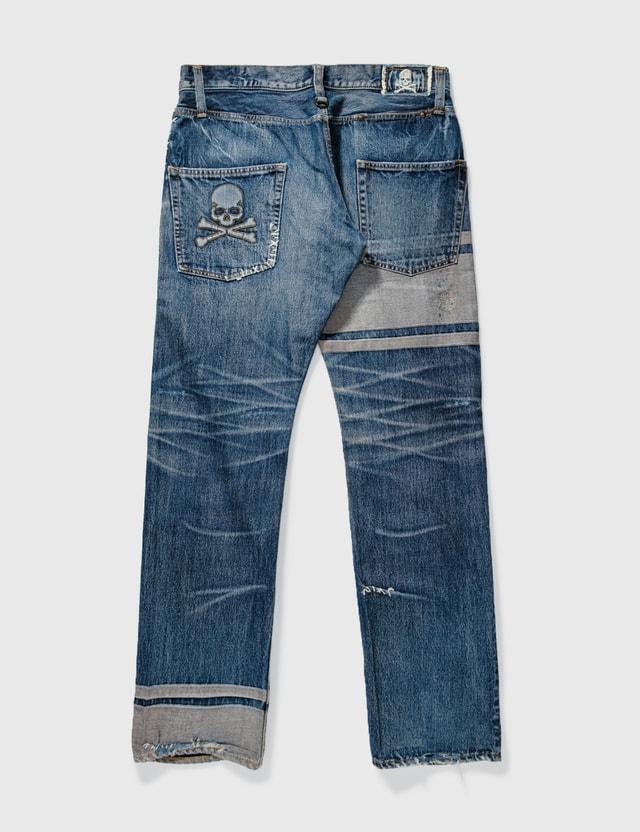 Mastermind Japan Mastermind Japan Trimming Washed Jeans Blue Archives