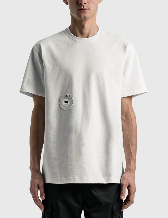 D'heygere D'heygere X Dada Service Bottle Opener T-shirt White / Silver Unisex
