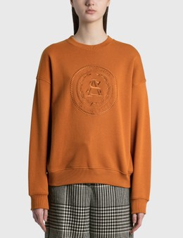 Acne Studios Fiena Embroidered Sweatshirt