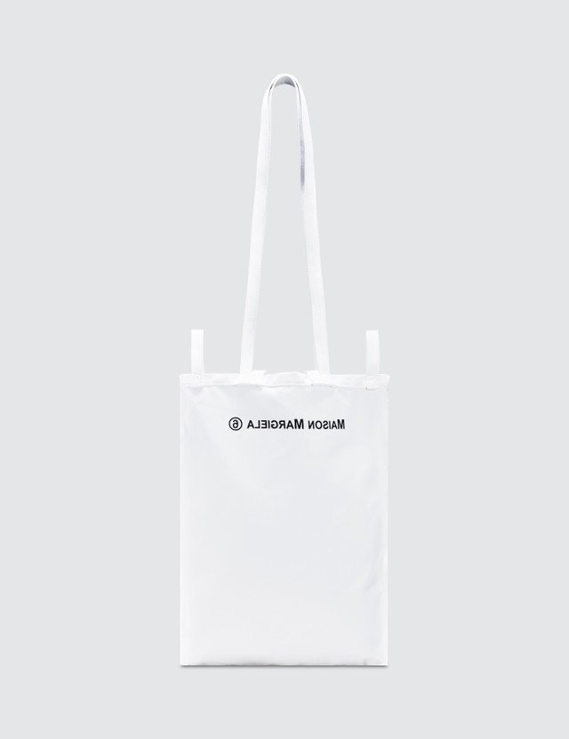 MM6 Maison Margiela Canvas Logo Tote Bag