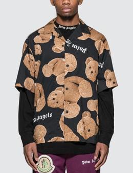 Palm Angels Kill The Bear Bowling Shirt