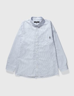 LMC Seersucker Basic Stripe Shirt