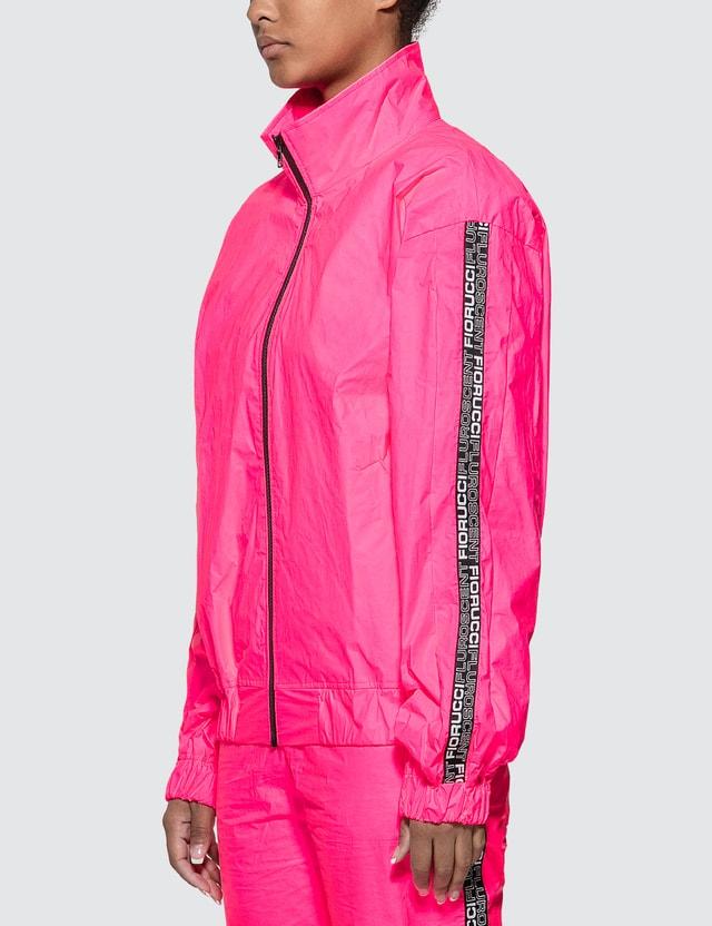 Fiorucci Tyvek Neon Pink Bomber Jacket Neon Pink Women