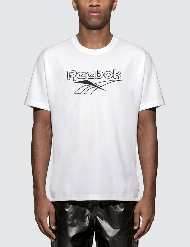 Reebok Classics Vector Embroidery S/S T-Shirt White Men