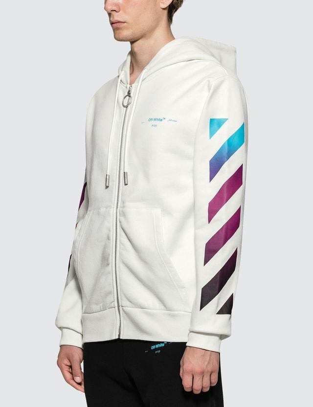 d588d51b6391 Off-White - Diag Gradient Zip Hoodie