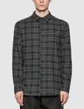 McQ Alexander McQueen Rollins Flannel Shirt Picutre