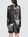 McQ Alexander McQueen Satin L/S Dress