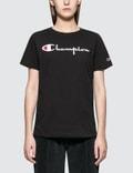 Champion Reverse Weave Crewneck Short Sleeve T-shirt Picture