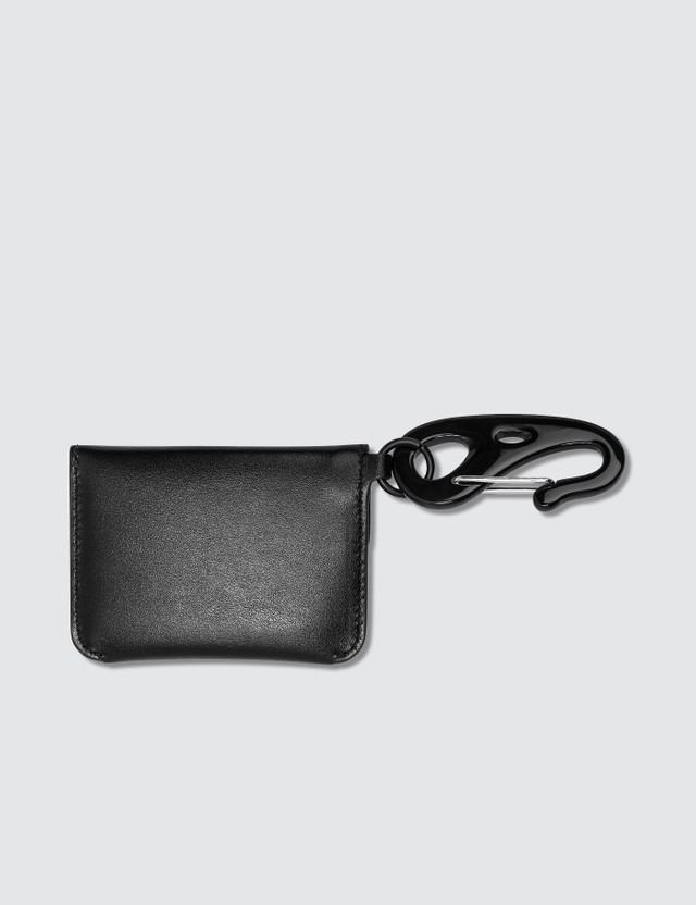 Alexander McQueen Graffiti Coin Pouch With Keyring
