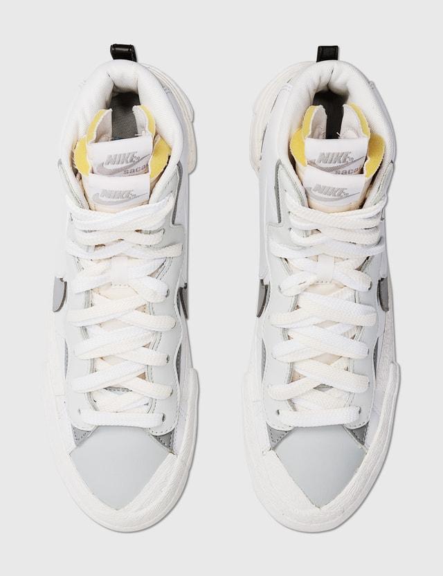 Nike Sacai X Nike Blazer White/grey Archives