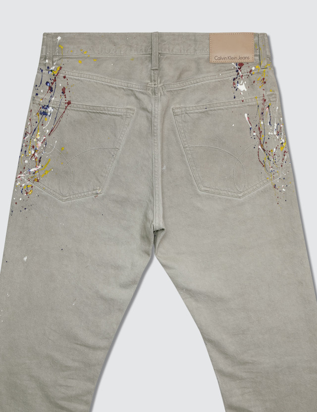 Calvin Klein Jeans A-High Straight-Sterling Natural RGD