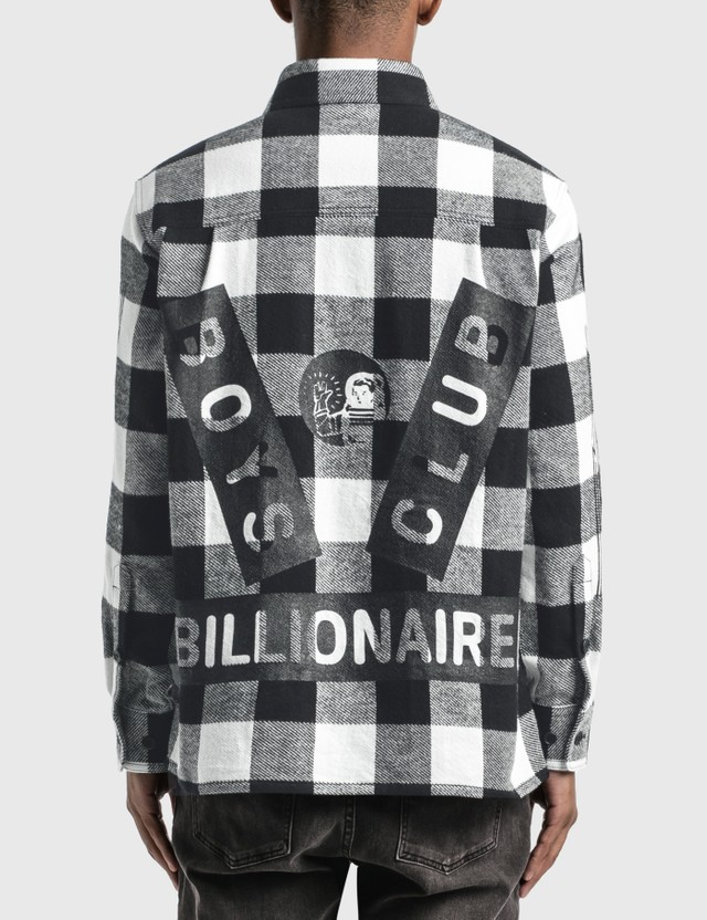 Billionaire Boys Club 박스 체크 셔츠 Black Men