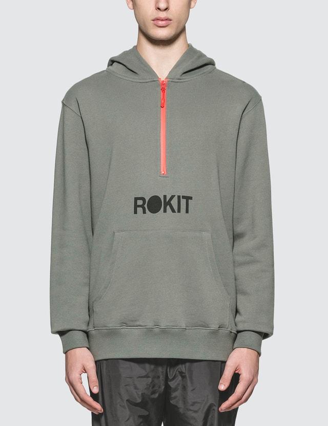 Rokit The Artime Hoodie Grey Men