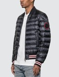 Moncler Down Bomber Jacket Navy Men