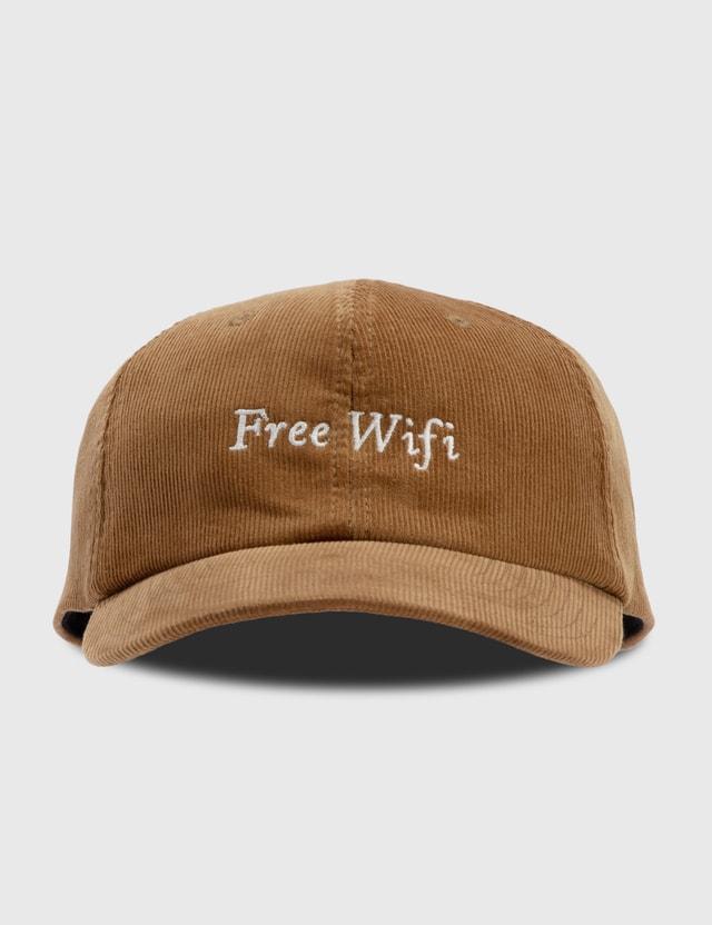 Free Wifi Corduroy Cap Camel Men