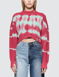 MSGM Stripes Bleach Ribbed Knit Picutre