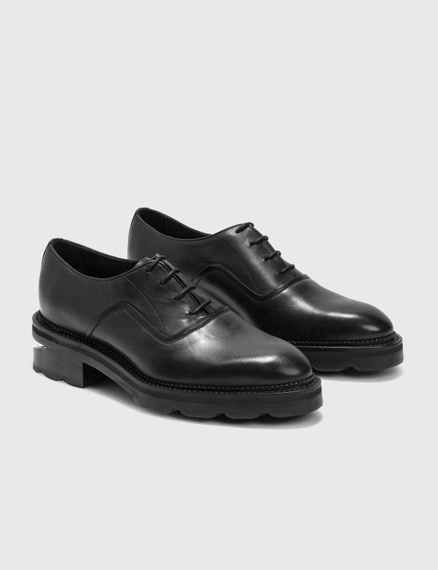 Alexander Wang Andy Oxford Leather Shoes Black Women