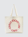 Girls Don't Cry GDC Cafe Tote Bag Picture