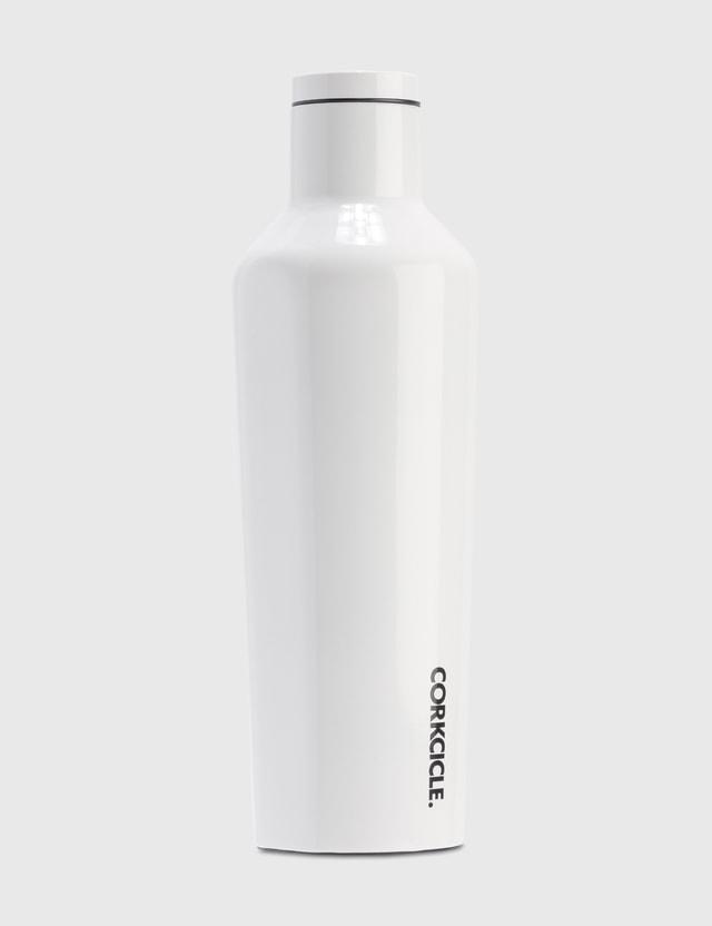 Corkcicle 16oz Canteen Bottle White Life