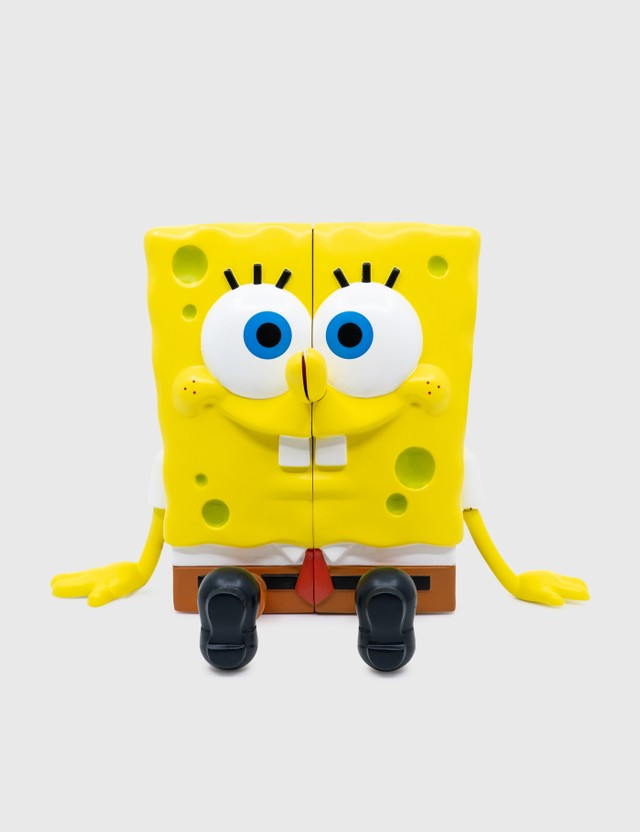 Mighty Jaxx XXPOSED Spongebob Squarepants Yellow Unisex